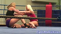 Glam babes wrestling and fighting