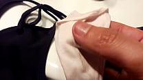 3 tangas usadas / 3 used dirty thongs