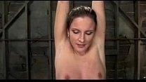 Girl Hanging Whipped Stimulated With Vibrator I...
