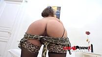 Sandra anal DP threesome (big butt slut) RS34