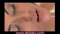 Lesbea Oiled teen orgasms from intense clitoral and G-spot massage