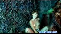 Audrey lords in Alien Swamp Sex