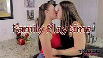 Melanie Hicks & Madisin Lee in Family Playtime ...