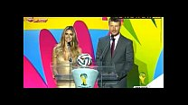 World Football Fernanda Lima Will Steal the Show at Brazil World Cup 2014 Draw NEWS IMAGENS