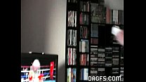 Nude Wii gamer