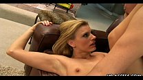 Darryl Hanah fucked in the ass with serious anal!