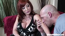 Redhead Mom Brittany O'Connell Pierced Pussy In...