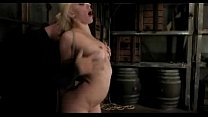 Hot Blonde Getting Hogtied Getting Her Pussy Fi...