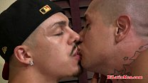 Hot latino guy fucks gangsta in the