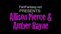 Allison Pierce and Amber Rayne Lick Each Others...