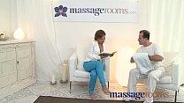 Massage Rooms Hot MILF enjoys big oily fingers ...