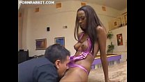 Hydie Waters skinny black girl feed with cum af...