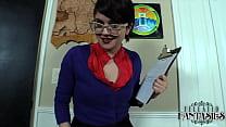 Teacher Raquel Roper Gives A Permission Slip Handjob