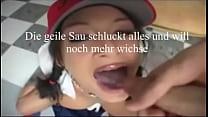 YouPorn - Cum swallow geile sau am sperma schlucken