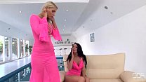 Dildo pleasures in the Ass from Antonia and Brandy Smile