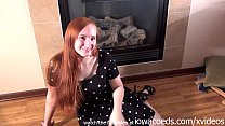 iowa amateur masturbating next to the fireplace