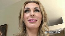 Mature slut Tanya Tate fucks and takes the cum ...