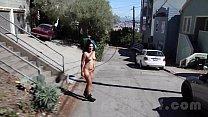 Nude in San Francisco: Celia public nudity spr...