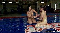 NudeFightClub presents Samantha Bentley vs Chrissie