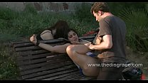 Salma de Nora is tied up and fucked in the ass