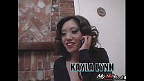 Kaiya Lynn is a petite Asian, with medium sized h