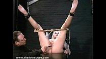 Buttplugged and Nosehooked humiliation