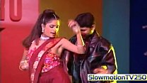 Anjala Jhaveri Boob slip Nipple visible slowmotion