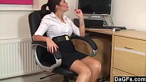 Suzie Is Feeling Horny At The Office