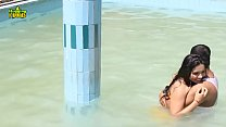 128~~256~~love in water - swimming pool Romance With Neighbour Hugging Hub Short Films uuid-f16