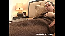 Sexy Blonde Mature Pulls Sick Cock In Bed