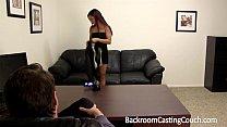 Shy Latina Backroom Insemination