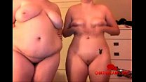 Two Naked Fatties and a Webcam