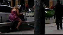 Casal é flagrado transando (Gomes Freire) / Couple having sex in downtown
