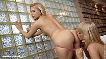 Blonde Affair - by Sapphic Erotica lesbian sex with Rikki Noleta