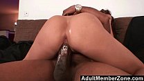AdultMemberZone - Fiery redhead wants the black...
