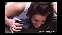 Kim Kane and Skye Shelly tickle
