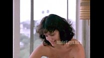 Ione Skye - Mascara (shirt off-on couch)