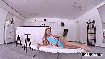 Spicy teenie pleasures slit and gets licked and shagged in pov