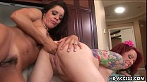 Sexy Francesca La and Kylie Ireland lesbian action - xHamster