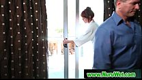 Nuru Massage With Big Tit Asian And Nasty Fuck On Air Matress 19