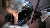 Leather Blowjob.WMV