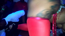 Ms Bunz xxx At QSL Club Halloween Strip Party i...