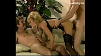 Beautiful Lady Fucked by two hardcock