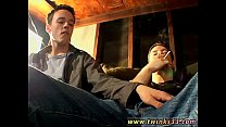 Austrian gay twinks Garage Smoke Orgy