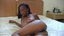 Slim Ebony Amateur Talked Into Doing Porn