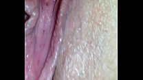 close up of miss smokes and squirts tight pussy...