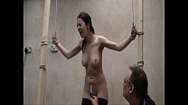 Interrogation torments and electro bdsm of tied slavegirl Emily