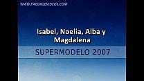 Supermodelo 2007-Bodypainting (Isabel Cañete, M...