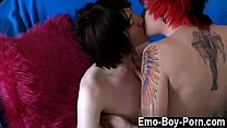 Gay sloppy hairy twinks Hot top Drake Blaize tears up the drill out