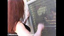 Milf Catherine joins in after she catches teen ...